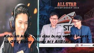 Khoảnh khắc cười đau bụng với BLV vetv và QTV trong chung kết AllStar trận 3