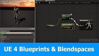 Ue4 animation blueprint quick tutorial most popular videos unreal engine animation tutorial blueprints blendspaces malvernweather Images
