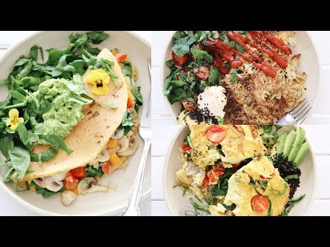 3 VEGAN BREAKFAST RECIPES FOR THE WEEKEND