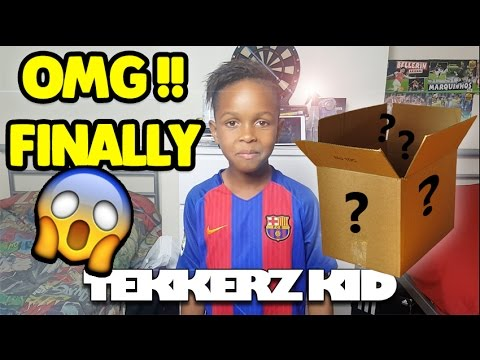 The Huge 100K Subscriber Giveaway!! | The FINAL PRIZE!! | Tekkerz Kid