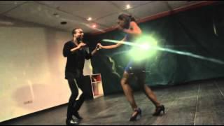 Carmen & Shon -Bachata Dance 2015 -El Desprecio- Aventura