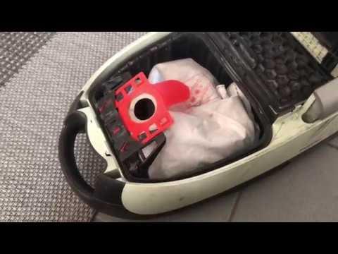 Miele S Staubsauger Beutel und Filter wechseln Bodenstaubsauger Anleitung