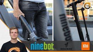 Segway Ninebot E-Roller vs. Xiaomi M365: E-Scooter Vergleich