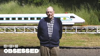 Meet the 89-Year Old Who Built a Train in His Backyard | WIRED