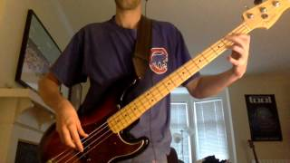 April Wine - Bad Side of the Moon - Bass Cover