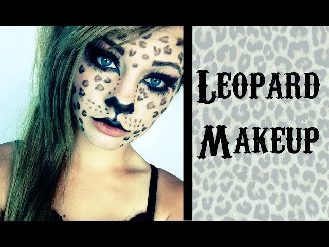 leopard cheetah cat makeup tutorial heythereimshannon turning your