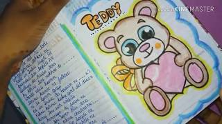 Reviewing my diary 😊. Get some ideas to fill your diary ☺☺