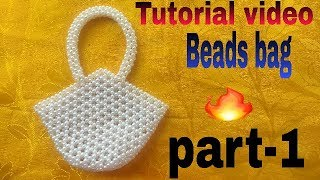 How to make beads bag (.nouka bag).made by Arpita creation
