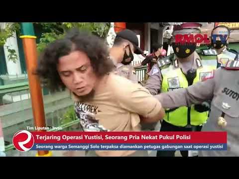 Terjaring Operasi Yustisi, Seorang Pria Nekat Pukul Polisi