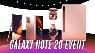 Samsung Galaxy Note 20 event in under 9 minutes