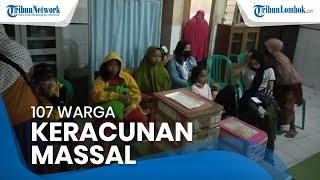 107 Warga Janapria Lombok Tengah Keracunan Massal setelah Makan Nasi Bungkus Hajatan