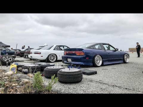 7 CARS TANDEM!!! (CRAZY DRIFT DAY)