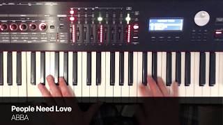 """People Need Love"" - ABBA (Piano Cover) - Mark Pentleton"