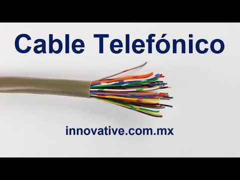 Cable Telefonico para Interior y para Exterior