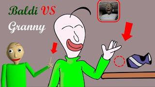 GRANNY THE HORROR GAME ANIMATION #1: Baldi VS Granny