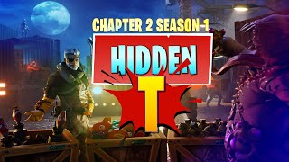 "Fortnite Chapter 2 | Hidden ""T"" Location in Loading Screen (Battle Star Replacement - Season 1)"