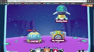 Raz-Kids log in tutorial for students