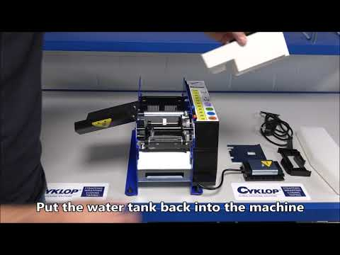 Lapomatic: Cleaning the machine
