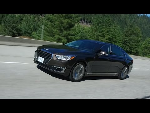 Genesis G90 Luxury Car Test Drive Review