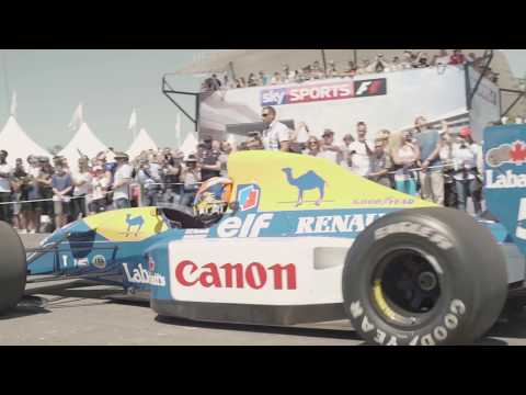 Williams brings F1 past and present to the Goodwood Festival of Speed