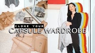 How To Make Patterns From Your Capsule Wardrobe 📐   WITHWENDY