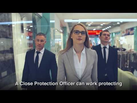 SIA Close Protection course information - YouTube