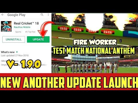 Real Cricket 18 V1 9 Test Match Update    APK+OBB DOWNLOAD