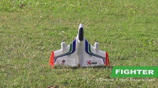 6-channel brushless vertical take off and landing aerobatics glider youtube video