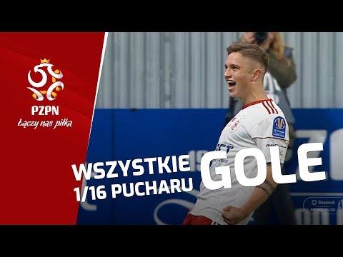 Totolotek Puchar Polski: Magazyn 1/16 finału. Wszystkie bramki [WIDEO]