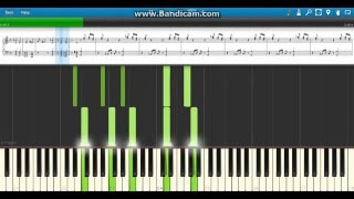 """The Time is Now"" John Cena WWE Theme - Piano (Synthesia)"
