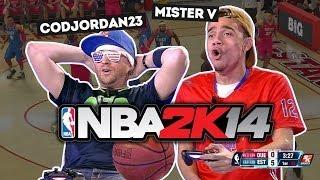 NBA2K14 - Mister V contre CodJordan23 (All Star Game)