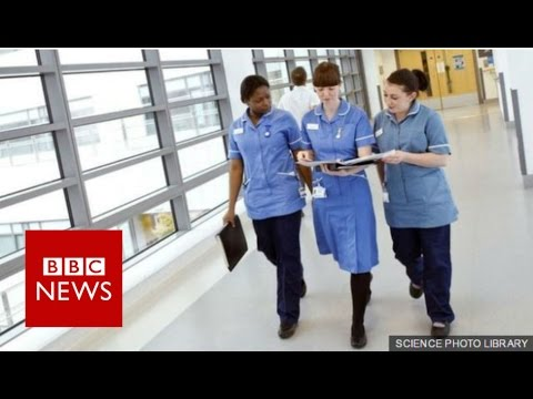 Labour promises pay rises for NHS staff - BBC News