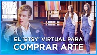 El Etsy Virtual Para Comprar Arte En Colombia | Shark Tank Colombia