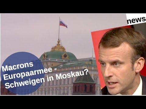 Macrons Europaarmee: Schweigen in Moskau? [Video]