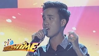 It's Showtime: Carlmalone Montecido sings Christian Bautista Medley