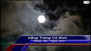 Karaoke Vầng Trăng Cô Đơn-  Ngọc Sơn - Karaoke hoangdinh (beat chuẩn)