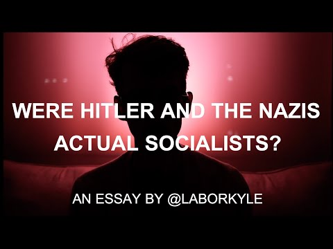 Were Hitler and the Nazis Actual Socialists?
