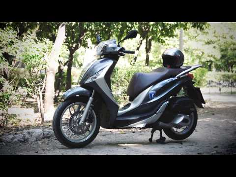 Piaggio Medley 150 Test-ride