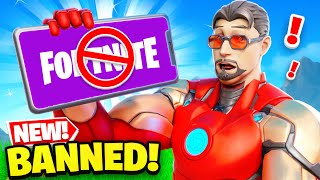 NEW *BANNED* Fortnite is SUPER BROKEN!