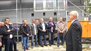 preview picture of video 'WGH Wohnungsneubau Am Kulk - Richtfest in der Altstadt von Halberstadt'