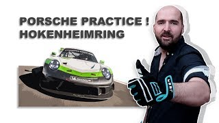 Getting My Time Down At Hockenheimring  | Race Room Porsche