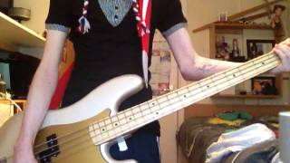 Death Cab for Cutie - Summer Skin (Bass Cover)