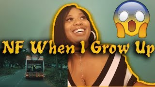 Mom Reacts To NF   When I Grow Up | Reaction