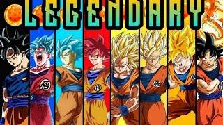 Dragon Ball Super 《AMV》  Skillet   Legendary