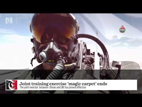 Joint military drill 'Magic Carpet' concludes in Oman