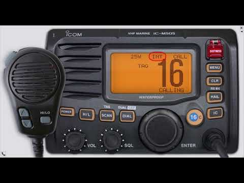 IC-M505 - Kleiner Rundgang durch das Funkgerät