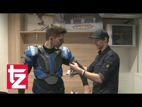 EHC Red Bull München: Eishockey-Experte erklärt die Ausrüstung