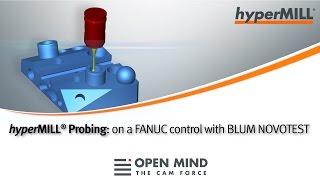 CNC Machining: Probing cycles | FANUC control | hyperMILL