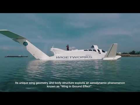 Revolutionary New Marine Transport is Part Boat and Part Aircraft