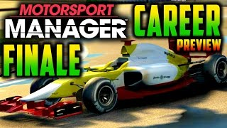 WORLD CHAMPIONS?! Motorsport Manager PC GAMEPLAY CAREER FINALE (Preview)